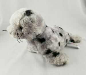 """Mary Meyer Marshmallow 9"""" Junior Seal Gray Spotted Soft Toy Friend, 9 in"""