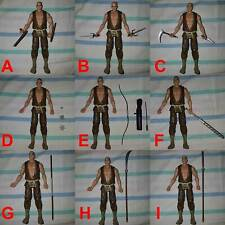 Weapons Set for 1/12 1/10 Scale  6-7 inch figures Marvel Legends Select DC Ninja