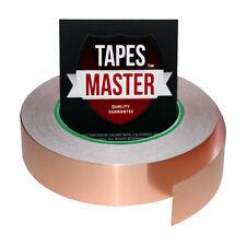 "Copper Foil Tape - 1"" x 36 Yds. - EMI Conductive Adhesive / Ship from USA"