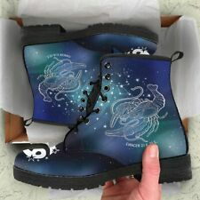 Cancer Horoscope Zodiac Star Sign Leather Boots Christmas Birthday Gift