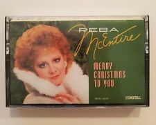 Reba McEntire Merry Christmas To You Cassette Tape 1987 Holiday Music
