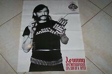 MOTORHEAD NO REMORSE LEMMY  POSTER 75X54 CM