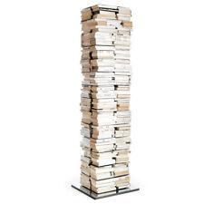 OPINION CIATTI libreria PTOLOMEO PTX4-A NERA CON BASE INOX girevole 360°