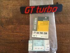 Renault Super 5 GT Turbo Renault  5 Turbo -Logo de calandre Phase 1 NEUF