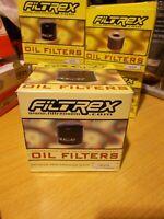 Filtrex Oil Filter Harley Davidson XLH 1200 1980-84