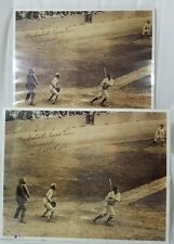 Babe Ruth 1927 The 60th Babe Connects 2 Prints Posters Baseball Pictures 11 x 14