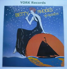 BETTY RHODES - No Regrets - Excellent Condition LP Record Painted Smiles PS-1330