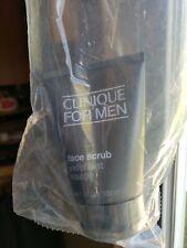 Clinique for men Face Scrub Exfoliant Visage 100ml Sealed! Ret. price $21