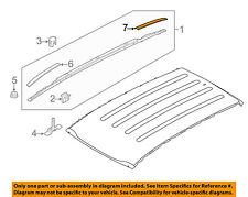 KIA OEM 11-16 Sportage Roof Rack Rail Luggage Carrier-Rear Cover Left 872613W500