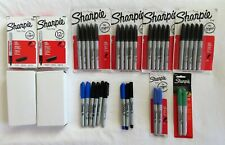 81 New Sharpie Fine Point Black Blue Green Permanent Markers 81 Total Ultra