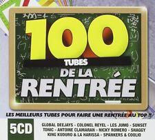CD NEUF scellé - 100 TUBES DE LA RENTREE / Edition Digipack 5 CD -C14