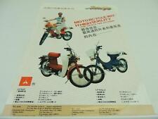 Chengdu CF80 CF50F CF50 Q-2 Motorcycle Scooter Dealer Brochure L2644