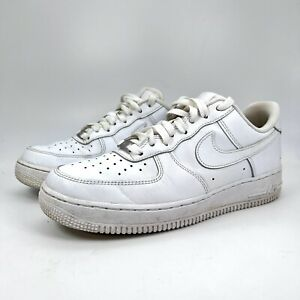 Nike Air Force 1 '07 Low Lifestyle Shoes White White 315115-112 Womens Size 9