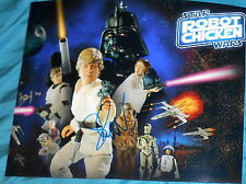 """SETH GREEN SIGNED AUTOGRAPH """"ROBOT CHICKEN"""" STAR WARS POSTER PROMO 8X10 PHOTO"""