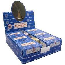 Genuine Original Satya Insence Nag Champa Incense 12 Cones X 12 box= 144 cones