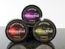 COMPTON  BARBERS BEARD BALM / WAX / HAIR CARE / MEN'S GROOMING -SET OF ALL 3