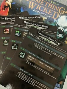 Flying Frog - A Touch of Evil And Something Wicked Expansion - XL MINION CARDS