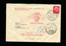 Zeppelin Sieger 459 LZ 130 1939 Bielefeld Germany Flight UNDERPAID RARE