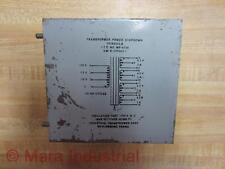 Part TFIRX02LB Transformer Power Shutdown MP-6730 - New No Box