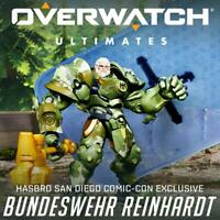 "2019 SDCC HASBRO EXCLUSIVE 6"" OVERWATCH ULTIMATES SERIES REINHARDT ACTION FIGURE"