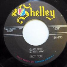 EDDY TONE 45 Guaglione / Earth is beautiful SHELLEY r&b crooner Jr1011