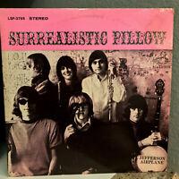 JEFFERSON AIRPLANE - Surrealistic Pillow(1st Press LSP 3766)Vinyl Record LP- VG+