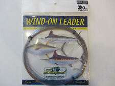 Momoi Leader 90026 Diamond Wind On Leader 250lb 25' Smoke Blue