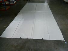600g//qm Weiß B-Ware Abdeckplane Lkw Plane PVC Folie 2,50m x 4m ca