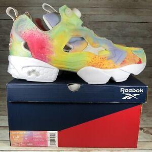 Reebok InstaPump Fury 'Pride' Rainbow Multicolor Shoes FX4775 Men's Size 11.5