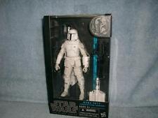 "Boba Fett 6"" White Prototype Armor Black Series Star Wars Hasbro 2014 New Sealed"