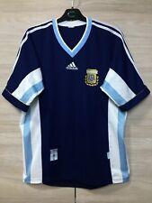 Argentina AFA 1998-1999 Away Football Soccer Adidas Vintage Jersey Shirt Rare