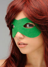 Adult Bright Green Felt Eye Mask