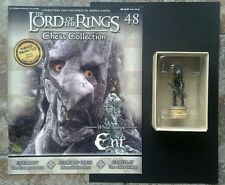 LOTR Chess Collection Series 2 #48 Ent White Bishop Boxed MINT inc Magazine