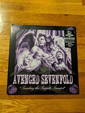 Avenged Sevenfold Sounding Seventh Trumpet Purple Clear Newbury Comics LTD/500