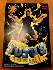 Jumpin' Juju's Crunch Cereal Giant Eagle RARE Smith Schuster Pittsburgh steelers