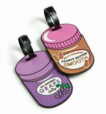 Betsey Johnson Peanut Butter and Jelly 2 pc. Luggage Tag Set - NWT