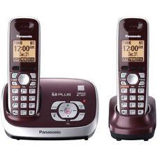 Panasonic Cordless Phone w/ Answering Machine DECT 6.0 Plus - Red (KX-TG6572R)™