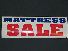 MATTRESS SALE Banner Sign Bed Memory Foam Pillow Top NEW LARGER SIZE