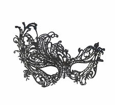 Women Black Lace Venetian Masquerade Carnival Party Ball Fashion Face Eye Mask