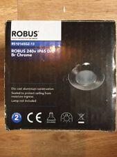 Robus 240v IP65 Down Light Chrome