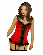 Lace Up Bra Strap Basques & Corsets for Women