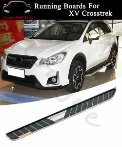 Running Boards fits for Subaru XV Crosstrek 2012-2017 Side Step Nerf Bars