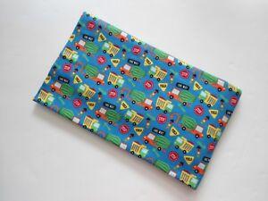 "Trucks Pillowcase Flannel Pillowcase Travel Pillowcase 18"" x 13"" Handmade New"