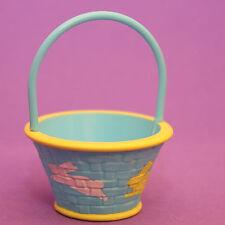 Hallmark Merry Miniatures EASTER 1986 Blue Basket w/ Bunnies EHA4143 SHIPS FREE