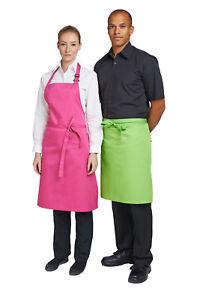 SALE! Dennys Hardwearing Bib Apron - Hot Pink  - NEW!