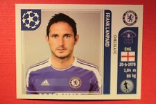 PANINI CHAMPIONS LEAGUE 2011/12 N. 285 LAMPARD CHELSEA WITH BACK BACK MINT!!