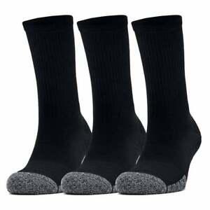 Under Armour HeatGear Crew 3-Pack Socks