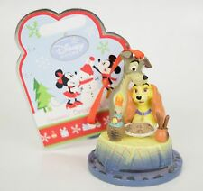 Disney Sketchbook Christmas Tree Ornament Lady And The Tramp Spagetti Dinner New