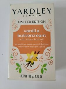Yardley London Limited Edition *VANILLA BUTTERCREAM* Bath Soap 1 Bar