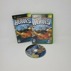 HEROES of the PACIFIC (Microsoft Xbox, 2005) Complete w/ Manual